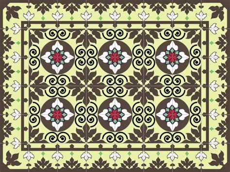 Pvc Boden Orientalisch by Mats Tile Rug Carpet Pvc Vinyl Floor Kitchen