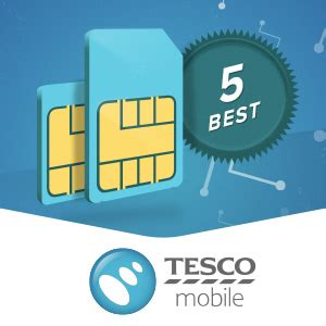 tesco mobile sim tesco mobile sim only the 5 best deals in march 2018