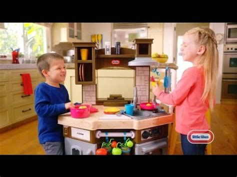 tikes cook  learn smart kitchen  commercial youtube