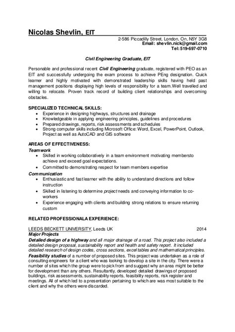 eit designation on resume