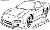 Ferrari Coloring Pages 458 Drawing Print Getdrawings California sketch template