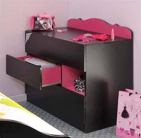 commode chambre ado commode girly secret de chambre