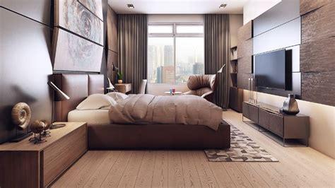 chambre chaude mobilier et déco en couleurs chaudes et froides dans deux