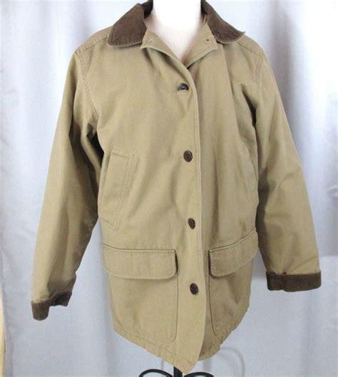 ll bean barn coat ll bean adirondack barn jacket s l large insulated