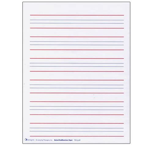 Red And Blue Lined Handwriting Paper Printable Red And Blue Lined Handwriting Paper Printable 1