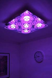 Colour changing led ceiling light design halogen lamp with