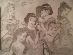 Disney Princess Drawings Easy