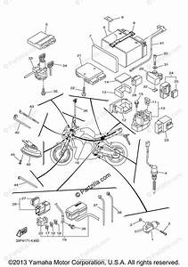 Yamaha Motorcycle 2011 Oem Parts Diagram For Electrical
