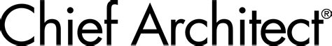 chief architect company logo graphics