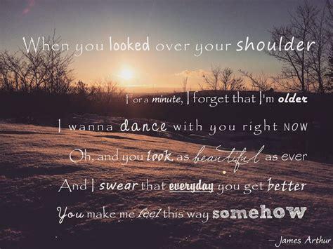 James Arthur — Say You Won't Let Go | Great song lyrics ...