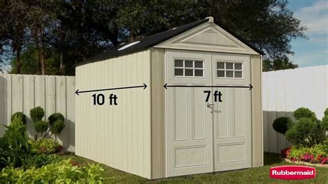 rubbermaid big max shed 7x7 rubbermaid big max ultra outdoor storage shed