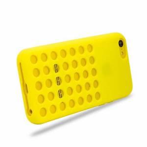 Circle Case for Apple iPhone 5C - Yellow :: MobileZap ...