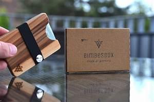 Holz Löcher Füllen : bimbesbox im test federleichtes slim wallet aus holz ~ Watch28wear.com Haus und Dekorationen