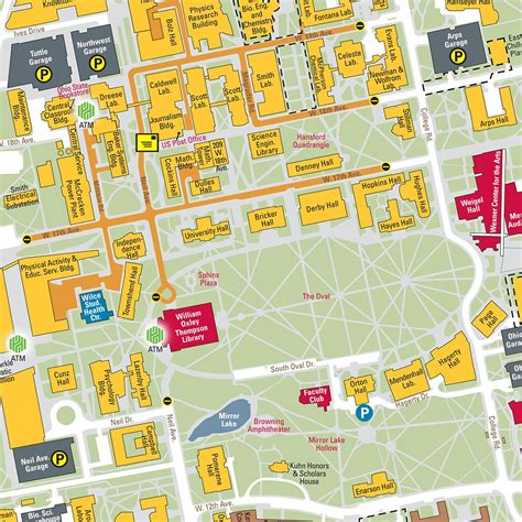 Campus Map Amazon Building Seattle