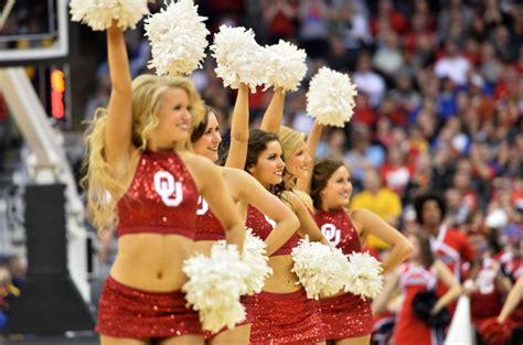 ncaa march madness fans cheerleaders mascots  bands