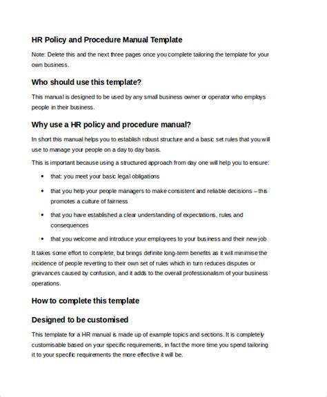 user manual template samples  word  format