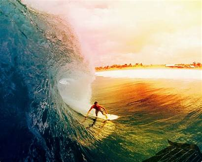 Surfing Sunset Wallpapers Surf Wallpapersafari