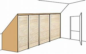 Wandschrank Selber Bauen : schrank speziell f r die dachschr ge tischlern ~ Watch28wear.com Haus und Dekorationen