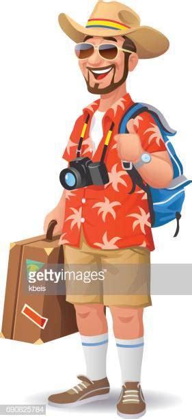 hawaiian shirt stock illustrations  cartoons getty images