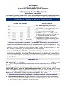 resume for ceo position ceo resume template word resume sles
