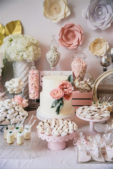Baby Shower For - blush garden inspired baby shower miami event