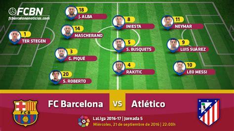 Fc Barcelona Vs Atletico Madrid 2016