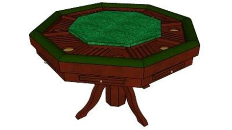 octagon game table plans poker table plans octagon woodworking projects plans