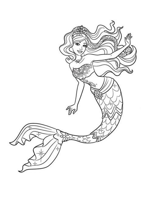 Coloring Mermaid by Mermaid Coloring Pages Ariel And Disney Princess