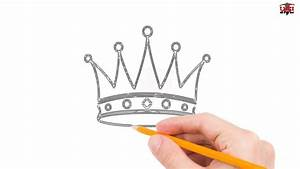 How To Draw A Crown Step By Step Easy For Beginners  Kids