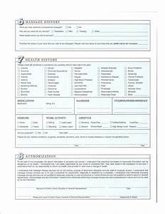 Free Printable Massage Intake Forms