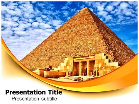 Egypt Templates Powerpoint by Best Photos Of Egyptian Pyramid Template Egyptian