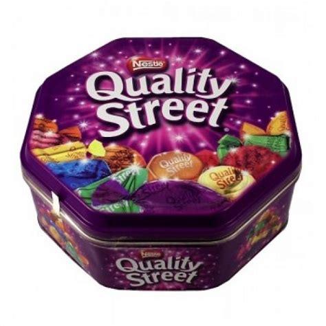 at tin dress chocolate quality tin