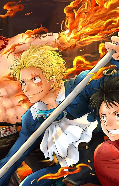 Luffy Ace and Sabo HD Wallpaper - M9Themes