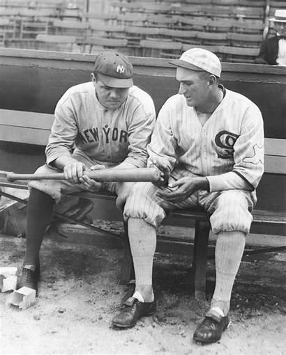 Babe Joe Ruth Shoeless Jackson Sox 1920