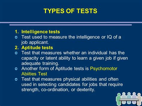 Test Intelligenze by Chapter 7 Recruitment And Selection Ppt