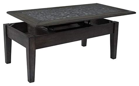 $7.00 coupon applied at checkout save $7.00 with coupon. Jofran Lift Top Cocktail Table in Gray Finish | Marble cocktail table, Ikea lack coffee table ...