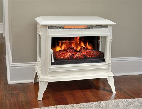comfort smart jackson cream freestanding infrared stove
