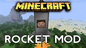 Minecraft: ROCKET MOD! - Spaceships of Rock and Rap - YouTube