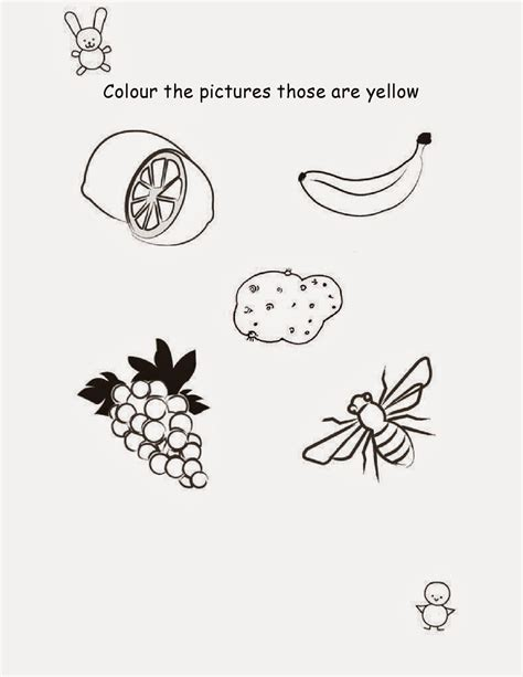 coloring drawing worksheets  nursery class