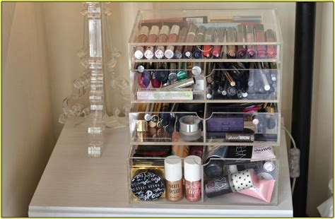 Fillable Lamp Base Ikea by Large Makeup Organizer Home Design Ideas