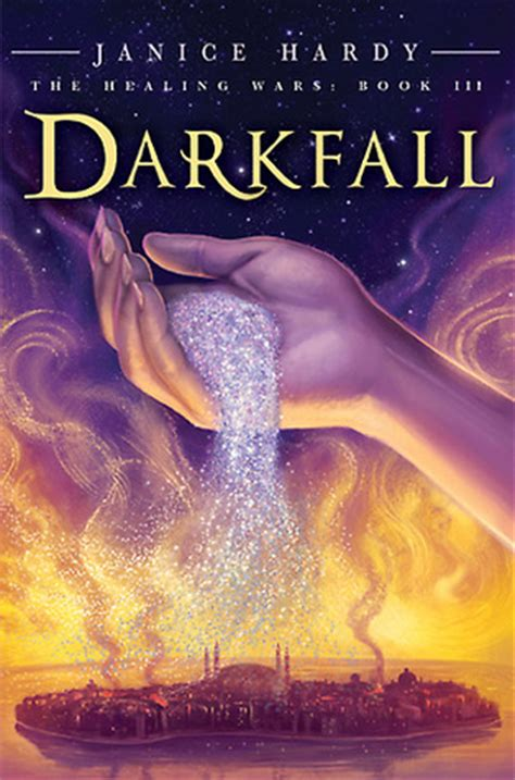 darkfall healing wars   janice hardy reviews discussion bookclubs lists