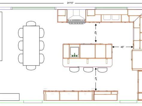 kitchen island sizes standard kitchen island size home design