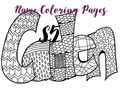 Coloring Pages Custom Printable Personalized Create Own
