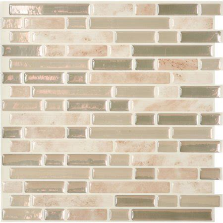 Smart Tiles Original Peel Stick Backsplash Wall Tile