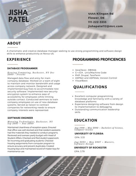 resume trends resumes 2017 template