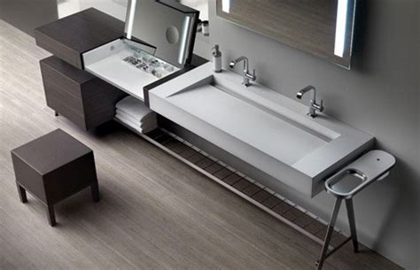 Modern Bathroom Vanity from Dedecker ? new ?01? vanity has