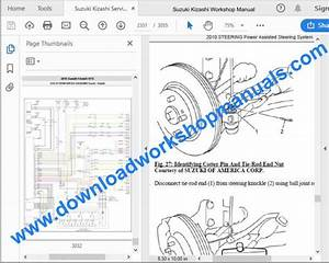 Suzuki Kizashi Workshop Repair Manual Download