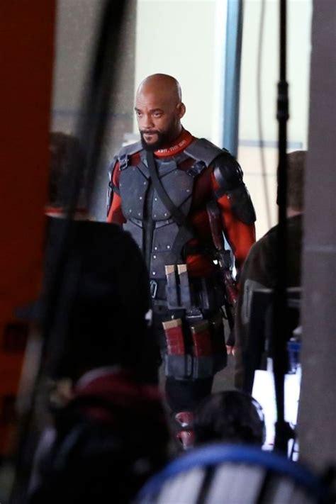 smiths deadshot costume  suicide squad revealed