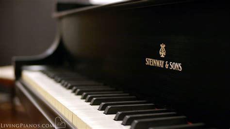 steinway model  baby grand piano