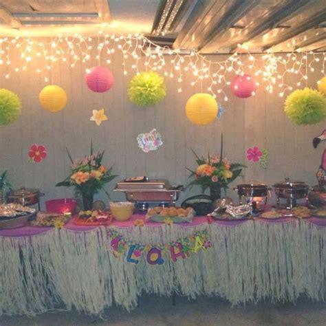 plan luau theme parties love life fiesta
